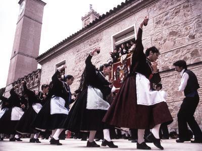 Saffron Harvest Festival, Consuegra, La Mancha, Spain