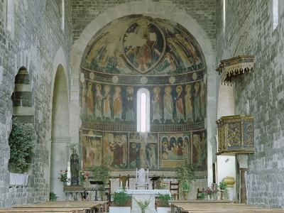 Interior of the Basilica Di Santa Trinita, Saccargia