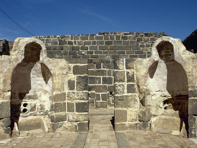 Syria, Bosra, Hammab Manshak, Old Public Baths, 14th Century, Ruins