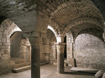 Interiors of a Crypt in a Cathedral, Andria, Apulia, Italy