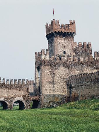 Medieval Walls and Legnago Gate, Montagnana, Veneto, Italy