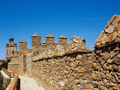 Spain. Avila. Section of the Medieval Walls, 12th Century