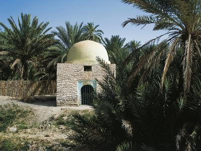 Mosque in Tozeur Oasis, Tunisia