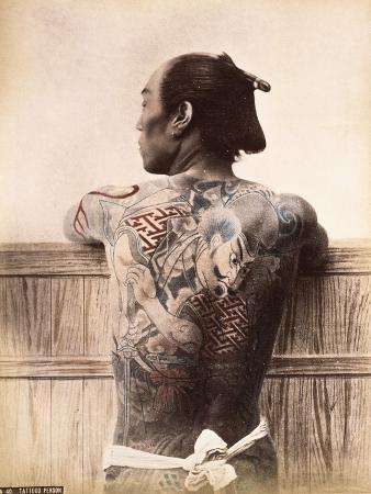 A Japanese Tattooed Man, C.1880