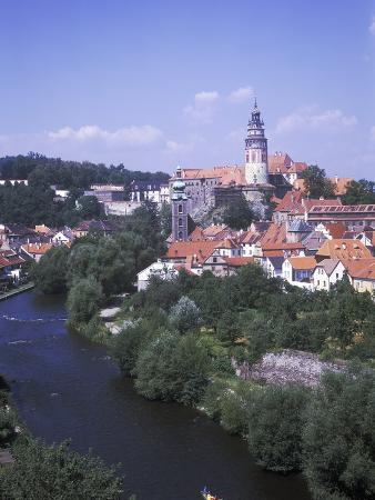 ?eský Krumlov Castle and Château, Czech Republic