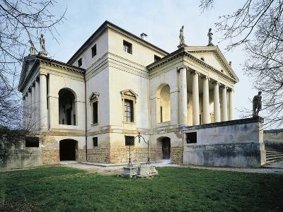 Low Angle View of a Building, Villa Rotonda, Vicenza, Veneto, Italy
