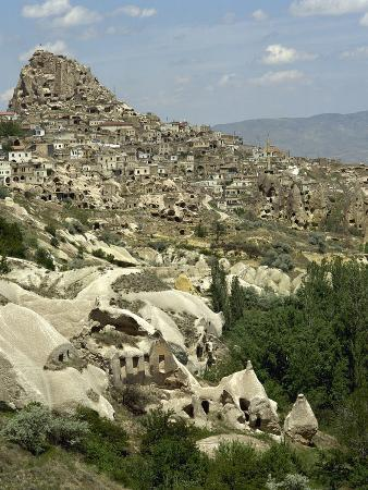 Turkey, Cappadocia, the Town Uchisar, Cave House, Central Anatolia