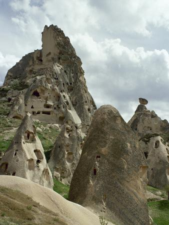 Turkey, Cappadocia, Uchisar, Cave House, Central Anatolia