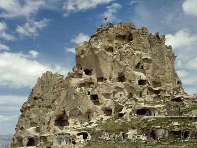 Turkey, Cappadocia, Uchisar, Cave House, Central Anatolia