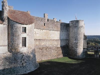 Ruins of a Castle, Grand-Pressigny Castle, Centre, France