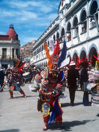 Mardi Gras Carnival, Oruro, Bolivia