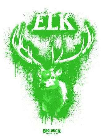 Elk Spray Paint Green