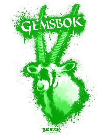 Gemsbok Spray Paint Green