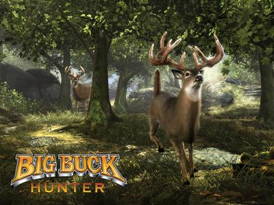 Big Buck Whitetail Deer with Logo