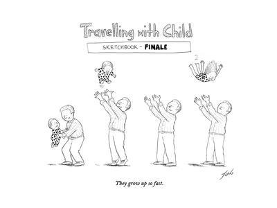 Traveling with child - Finale - Cartoon