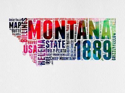 Montana Word Cloud 2