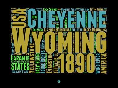 Wyoming Word Cloud 1