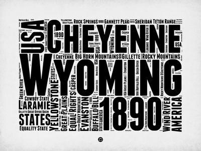 Wyoming Word Cloud 2