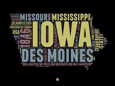 Iowa Word Cloud 1