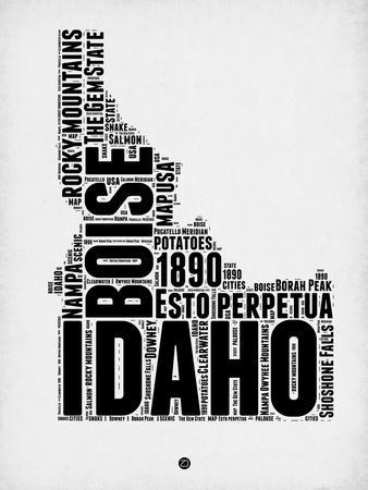 Idaho Word Cloud 2