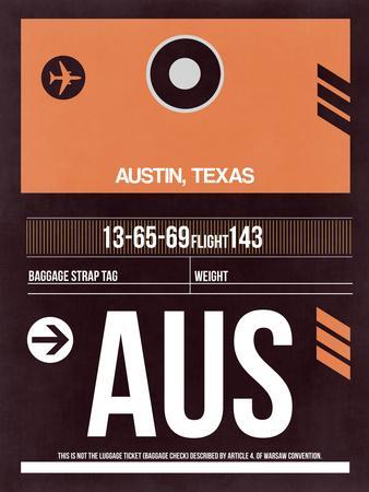 AUS Austin Luggage Tag 2