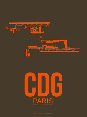 Cdg Paris Poster 3