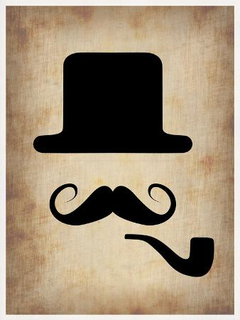 Hat Glasses and Mustache 4