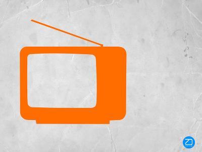 Orange Tv Vintage