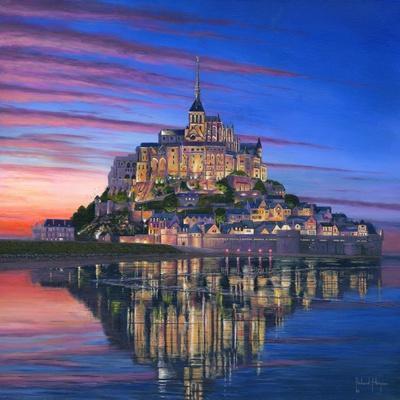 Mont Saint Michel Soir