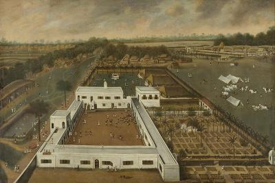 Dutch Plantation in Bengal, Probably the Voc Lodge Kazimbazar, 1665
