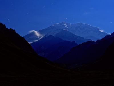 Mountain Peaks in Parque Provincial Aconcagua