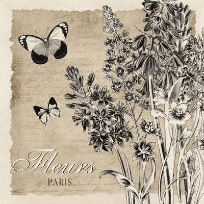 Bordered Fleurs Paris
