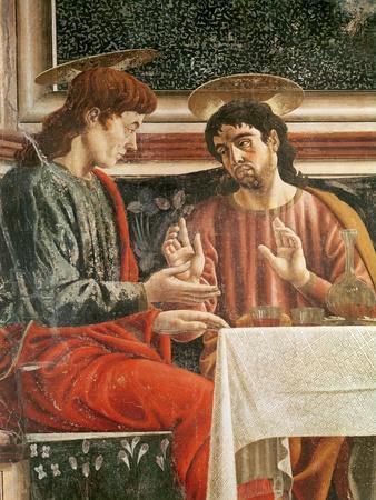 The Last Supper, Detail of Saint Matthew and Saint Philip, 1447