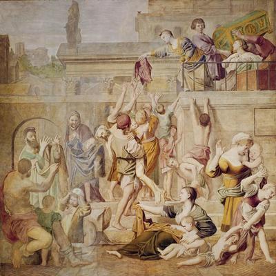St. Cecilia Distributing Alms, C.1612-15
