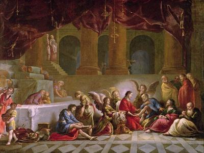 Jesus Washing the Disciples Feet