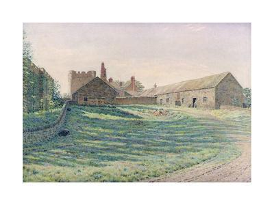 Halton Castle, Northumberland, Eastern Aspect, 19th Century