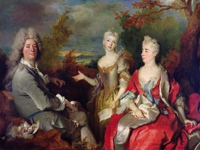 Family Portrait, C.1710