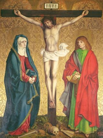 Crucifixion, Central Panel from the Retable on the High Altar, 1430
