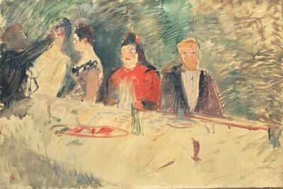 Sketch for 'The Supper', 1887