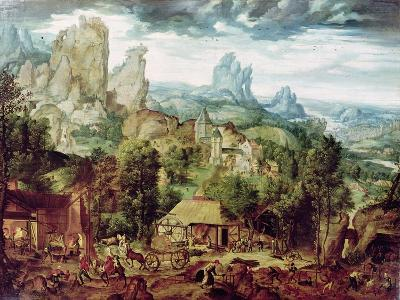 Landscape with Forge