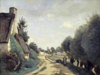 A Road Near Arras, or Cottages, C.1842
