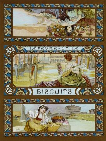 Lefevre-Utile, Biscuits, C.1910