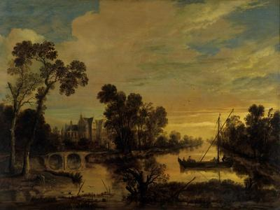 Landscape with Canal, 1643