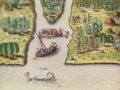 The French Discover the River of May