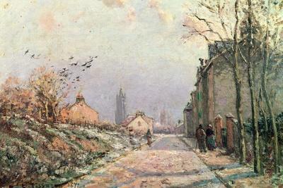 The Road, Effect of Winter; La Route, Effet D'Hiver, 1872
