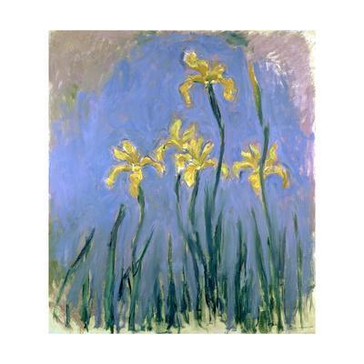 Yellow Irises; Les Iris Jaunes, C.1918-1925