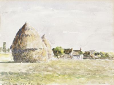 Haystack, Eragny Evening; La Meule De Foin, Soir Eragny, 1889