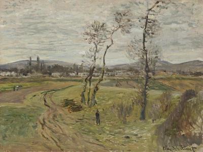 Gennevilliers Plain; La Plaine De Gennevilliers, 1877