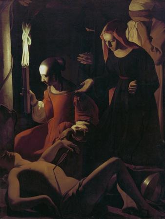St. Sebastian Tended by St. Irene, C.1649