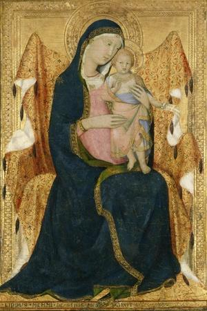 Enthroned Madonna with Child, C.1340